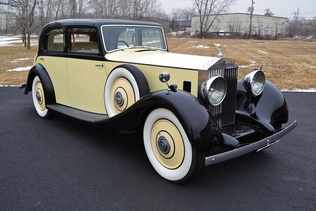 ROLLS ROYCE SEDAN 20/25 1935